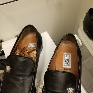 Men soft leather shoes
